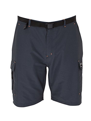 DEPROC-Active Herren Wanderhose Kentville Shorts Hose, Anthracite, 58