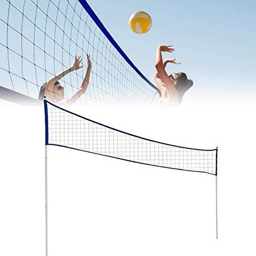 Dongbin Tragbare Standard-Badminton Net Set Für Tennis, Große Einstellbare, Kinder Volleyball - Easy Setup Sports Net Mit Polen