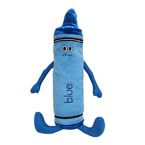 "KIDS PREFERRED My First Crayon Blue Beanbag Plush, 12"""