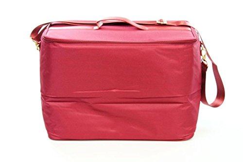 TUPPERWARE Tasche dunkelrot Kühltasche kühlen Picknick Tasche Picknicktasche