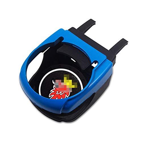 XDRE Posavasos de Coches 4 Colores Coche Outlet Outlet Drink Holder Accesorio de la Copa Agua con la Posavasa Compatible con Saab 9-3 93 9-5 9 3 9000 9 5 Coche Estilo Portavasos (Color : Blue)