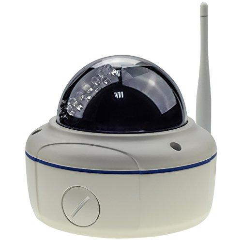 HD 1080p WiFi cupola telecamera ip con la sony ip66 cmos 2.8-12mm 4x zoom lens & 5.0db antenna regolazione automatica