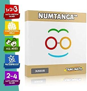Kakooma Numtanga Math Card Game JR (Ages K-2) - Addition Games - Math Card Games - Subtraction Game - Math Flash Cards - Multiplication Skills - Math Puzzle - Trains Computational Skills