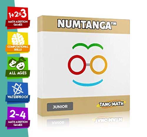 Kakooma Numtanga Math Card Game JR Ages K2  Addition Games  Math Card Games  Subtraction Game  Math Flash Cards  Multiplication Skills  Math Puzzle  Trains Computational Skills