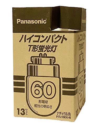 『パナソニック ハイコンパクトT形蛍光灯 13形 ナチュラル色(3波長形昼白色) FTL13EX-N』のトップ画像