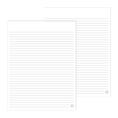 Erin Condren Designer Desk Accessories - Clipfolio Refill Notepads 2 Pack - Lined, Designed to Refill Any Erin Condren Clipfolio. Expanded Organization for Any Notebook, Planner, Journal and More