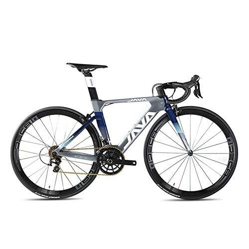 LYGID Carbon Rennrad 700C Kohlefaser Rennräder Fahrrad mit Shimano Ultegra 22 Speed Schaltgruppe 700C*25C Reifen Sattel Doppel V Bremse,A