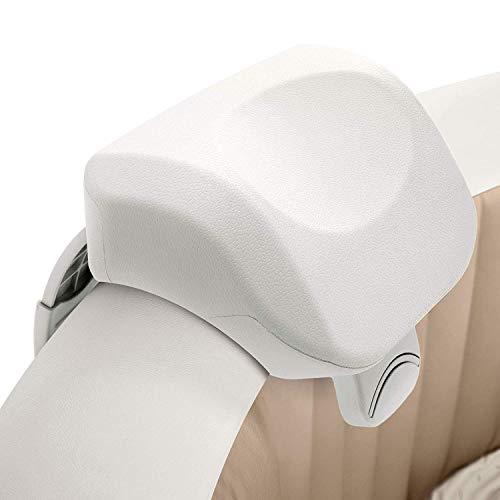Intex PureSpa Cushioned Foam Headrest Pillow Hot Tub Spa Accessory, White 2 Pack