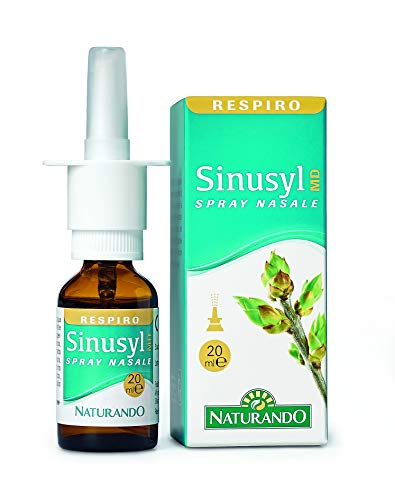 Naturando Respiro Sinusyl MD 20 ML. Spray Nasale che facilita la Respirazione