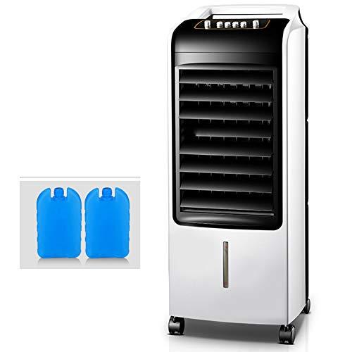 Air Cooler Portable, Raffrescatore d Aria Evaporativo, Raffreddatore d Aria, 3 velocità Regolabili, Serbatoio di Acqua 7L, per La Camera da Letto dei Bambini Dell ufficio Domestico