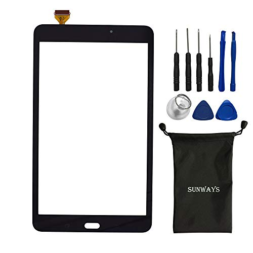 sunways Replacement Touch Screen and Digitizer Compatible with Samsung Galaxy Tab A 8.0 2017 T380 Tab A2 S WiFi(Black)