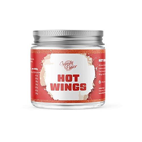 Infinity Flavor - Hot Wings Gewürz 90g | Perfekt geeignet zum Würzen von Hähnchen