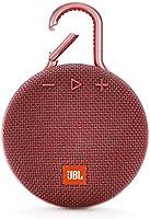 (Renewed) JBL Clip 3 Ultra 3.3 Watt Wireless Bluetooth Portable Speaker (Red)