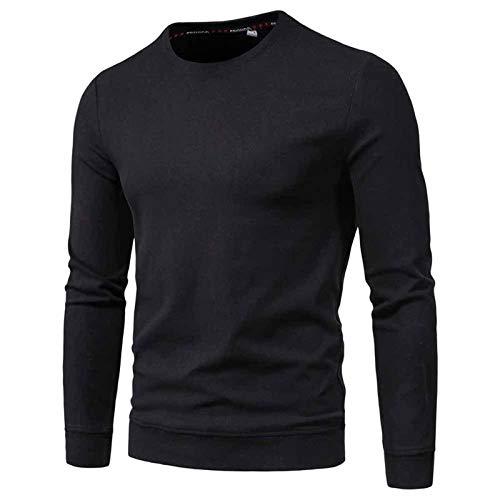 SSBZYES Suéter para Hombre Moda para Hombre Chaqueta Informal para Hombre Ouma Light Board Suéter De Cuello Redondo Chaqueta para Hombre