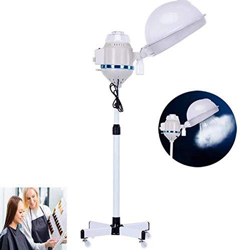 MJY 650W Réglable Orbite Halo Sèche-Cheveux Debout Roues Roulantes Salon Cheveux Couleur Processeur Accélérateur Professionnel pour La Maison Salon De Teinture Des Cheveux Perming Équipement/A,UNE