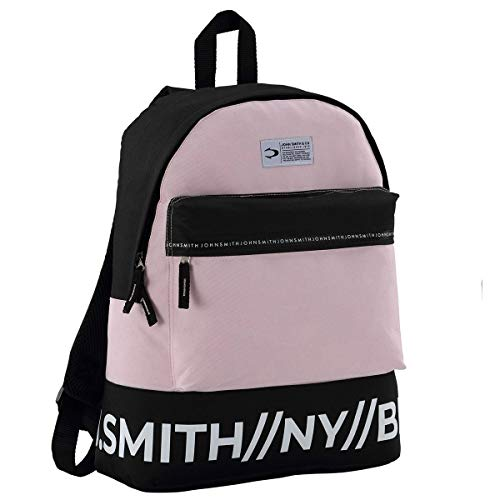 John Smith M20237 Mochila, Unisex Adulto, Rosa, Talla Única