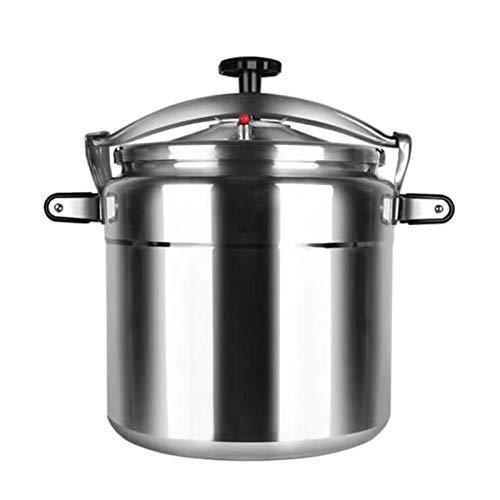 7L-50L Aluminium Offene Flammen-Gasherd-Druckkocher, kommerzieller Hochleistungsdruckkocher, multifunktionaler Küchen-Multifunktions-Slow-Kocher, geeignet für das Schulrestaurant, kleine Lebensmittels