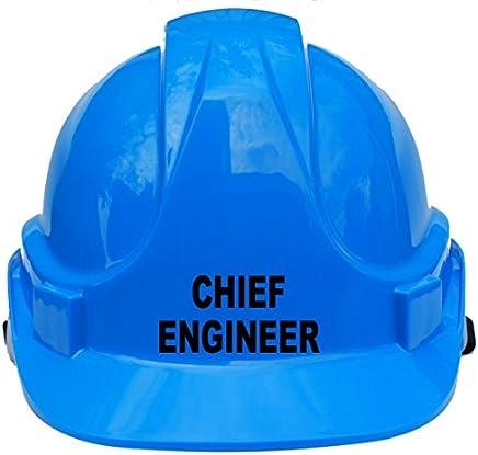 e7e5eccb6176d Chief ingénieur enfants, enfants véritable rigide Chapeau casque de sécurité  avec mentonnière Taille unique réglable