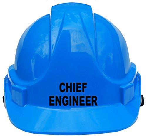 Chief ingénieur enfants, enfants véritable rigide Chapeau casque de sécurité avec mentonnière Taille unique réglable Convient pour 4–12ans Blanc Conforme à la norme de sécurité En397, bleu