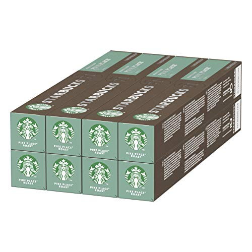 STARBUCKS Pike Place Roast By Nespresso 8 x 10 capsules (80 capsules)
