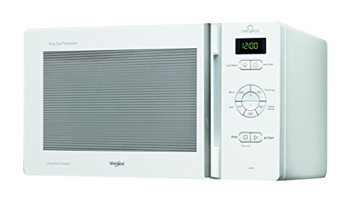 Whirlpool MCP345WH Forno a Microonde Chef Plus + Grill, 25 litri, Bianco,...