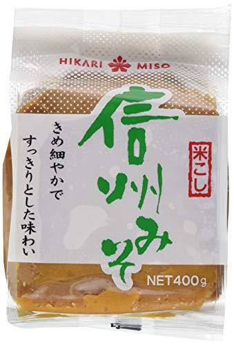 Hikari Shinshu Miso-Paste (braun), 400 g 1 Pack