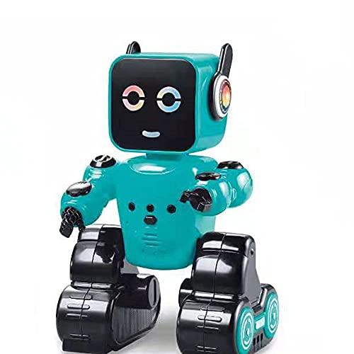 QHYZRV Robot De Control Remoto Inteligente Robot De Control Remoto De 2.4GHz Robot De Control Remoto Recargable Robot De Juguete De Control Remoto De Múltiples Escenas Juego Robot De Juguete Divertido