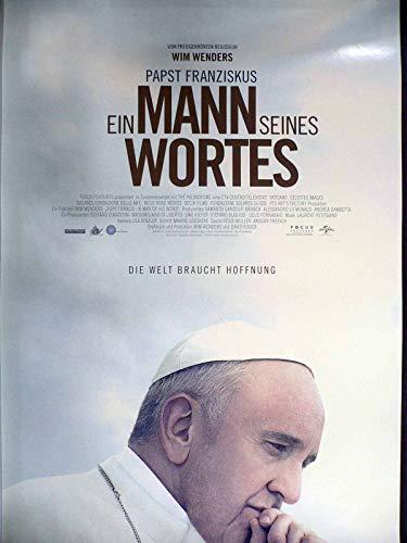 Ein Mann seines Wortes - Papst Franziskus - Filmposter A1 84x60cm gerollt