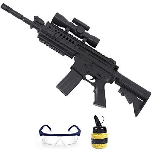 Fusil G70 Galaxy (6mm)   Arma de Airsoft Tipo Colt M4 para Bolas de PVC. Sistema: Muelle. Incluye Gafas y Bolas