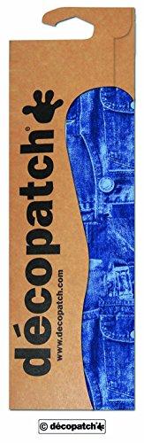 Decopatch Papier No. 381 (blau Jeans, 395 x 298 mm)