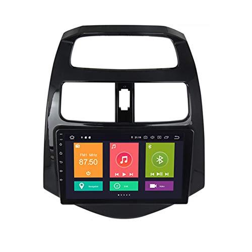LHWSN Radio de automóvil Double DIN para Chevrolet Spark 2010-14 GPS Navigation 9 Pulgadas Unidad de Cabeza MP5 Multimedia Player Radio Video Receptor con DSP Carplay,Px6