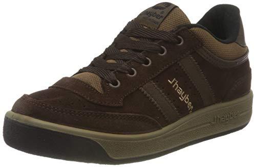 J´hayber 51139, Sneaker Unisex Adulto, Marrón/Negro, 44 EU