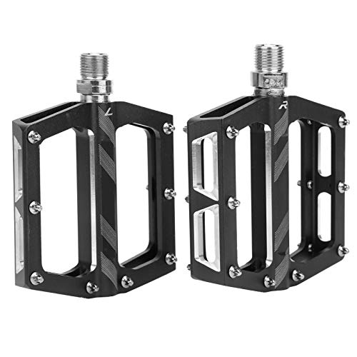 Gransun Pedal, Bike Pedals, Wide Platform Professional for Road Bike Mountain Bike(Black)
