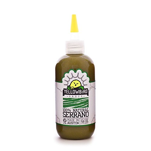 Yellowbird Serrano Hot Sauce 9.8 Oz (1 Bottle)