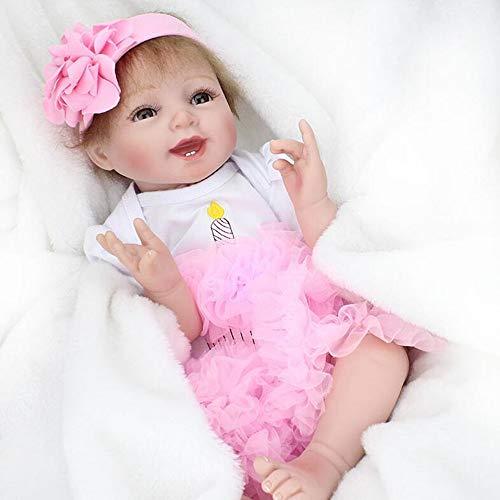 ZELY muñecas Bebé niña Reborn Baby Dolls 22 Pulgadas 55cm...