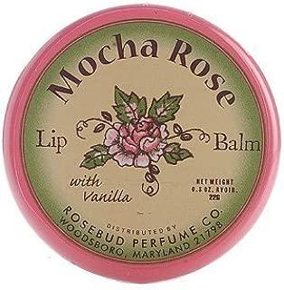 Rosebud Lip Balm, Mocha Rose, .8 Ounce by Rosebud