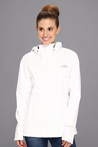 The North Face Jacke Venture - Soft Shell para Mujer, Color Blanco, Talla M