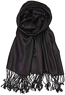 Pashmina Scarf Women Soft Cashmere Scarves Stylish Large Warm Blanket Solid Winter Shawl Elegant Wrap