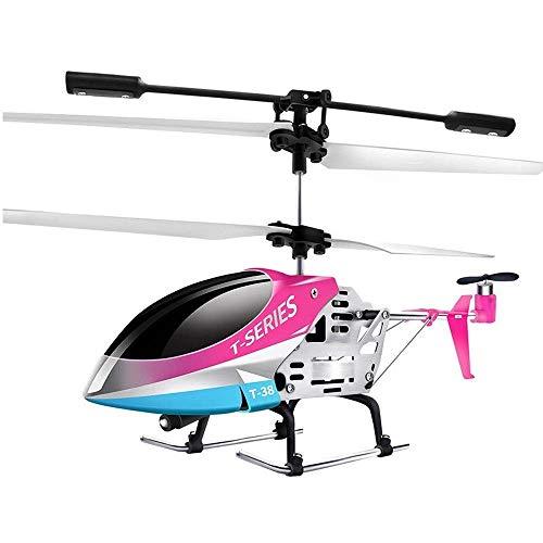 YQTXDS Helicóptero de Control Remoto, Avión RC Avión Juguete al Aire Libre- Avión Estable 3.5 CH Gyro A Incorporado (Juguetes RC)