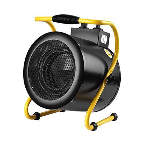 Sawera Calentador eléctrico Industrial/Turbo, Calefactor termoventilador eléctric portátil 1500W, para la Oficina Doméstica