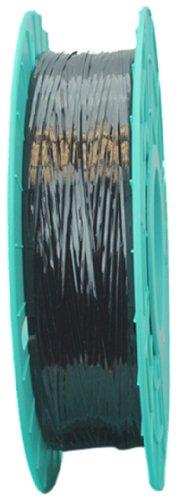 Tach-It - #03-2500 BL 03-2500 Black Twist Tie Ribbon