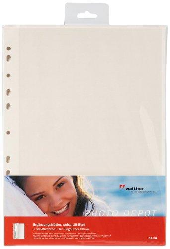 Walther Design Kunststoffrahmen, Weiß, 21x30 cm (DIN A4)