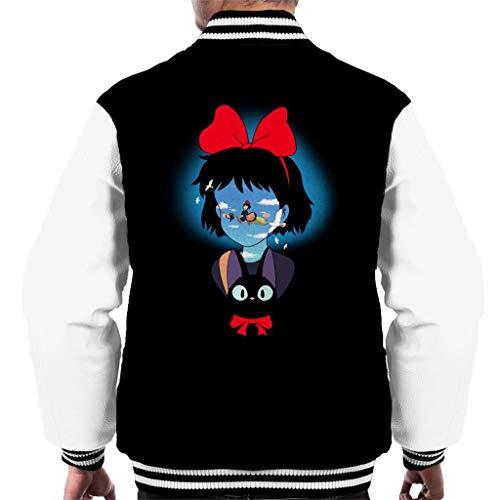 Cloud City 7 Kiki's bezorgservice op Bezem Varsity Jacket voor heren