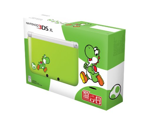 Nintendo 3DS XL - Yoshi Edition [video game]