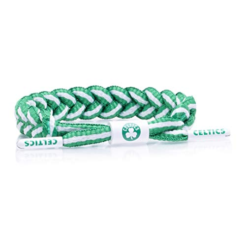Rastaclat NBA Boston Celtics Medium/Large Braided Bracelet