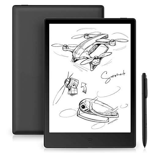 Likebook Alita E-Reader, schermo HD flessibile da 10,3 pollici E Mobius, doppio tocco, scrittura a mano, luce fredda/calda integrata, audio incorporato, Android 6.0, 4 GB + 32 GB (10.3)