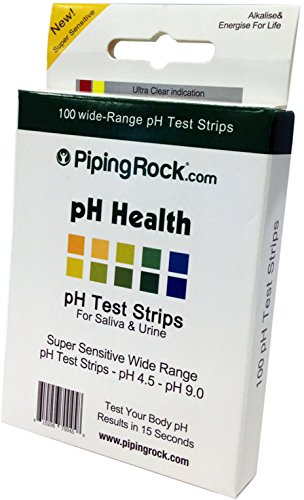 buy PH Test Strips for Saliva and Urine 100 strips Diabetes Care