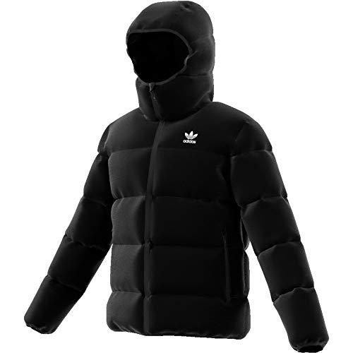 adidas Hooded Padded, Jackets Uomo, Black, S