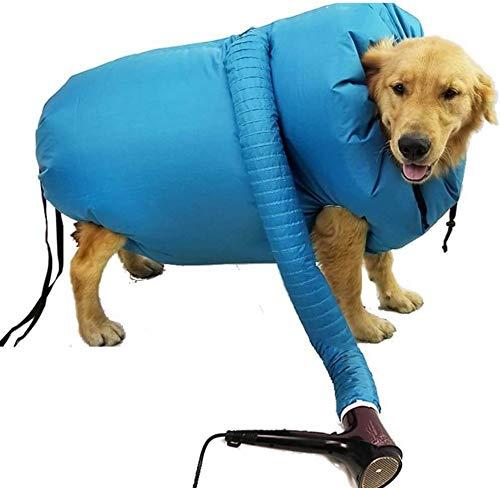 N\A Cappotto per Asciugatura Animali Domestici, Asciugatrice per Cani A Soffio E Lanugine, Soffiatore Veloce Facile da Proteggere Strumento Professionale per Capelli Pet Soffio (L)