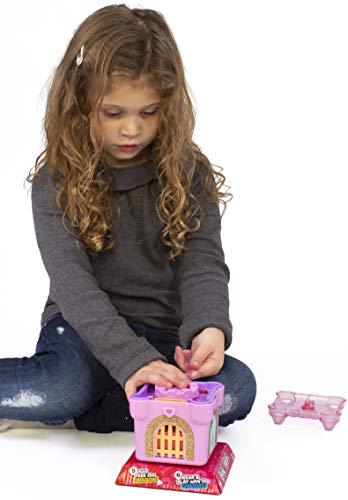 Funlockets S19210 - Scatola per gioielli e ciondoli a forma di castello di sorpresa segreta per ragazze, edizione limitata